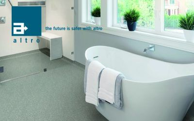 Altro Whiterock y  Altro Aquarius: solución integral para zonas húmedas